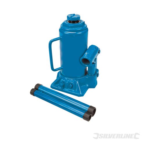 Hydraulic Bottle Jack Silverline 10 Tonne