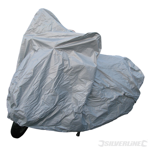 Motorbike Cover Silverline 2300 x 870 x 1050mm