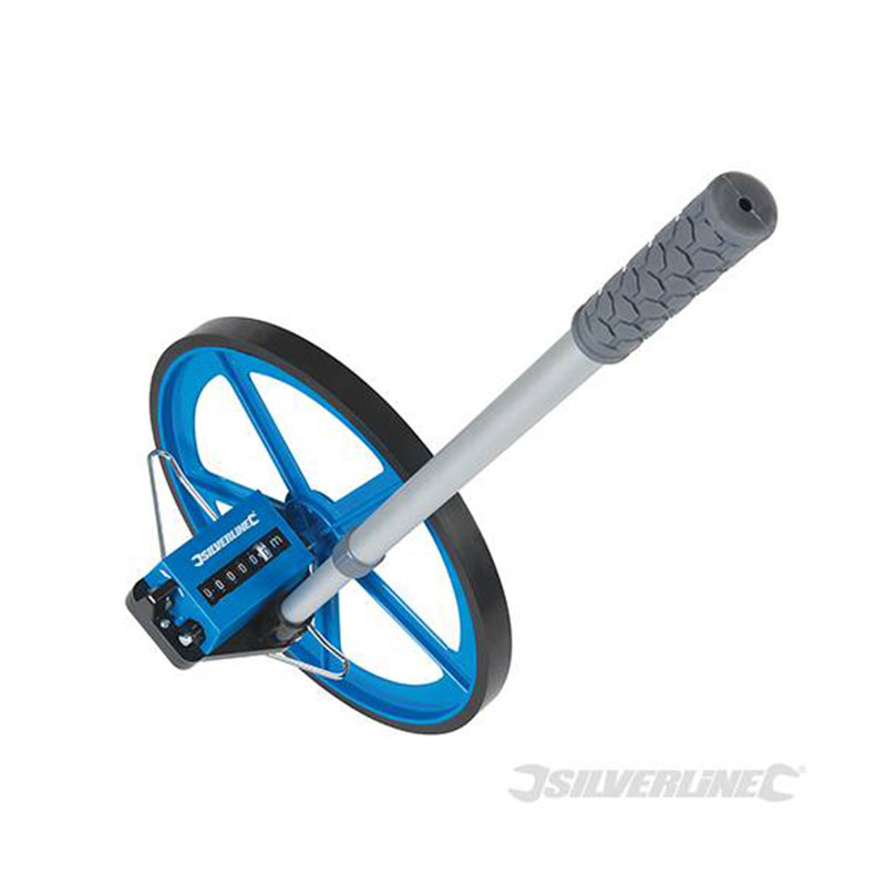 Metric Measuring Wheel Silverline 0 - 99,999.9m