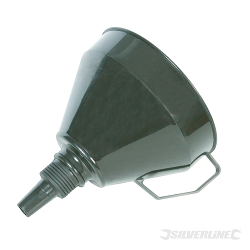 Plastic Funnel with Filter Silverline 160mm