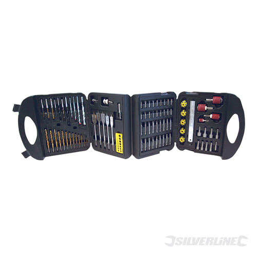 Assorted Drill Set 113pce Silverline 113pce