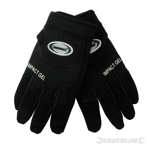 Gel Comfort Gloves Silverline Large