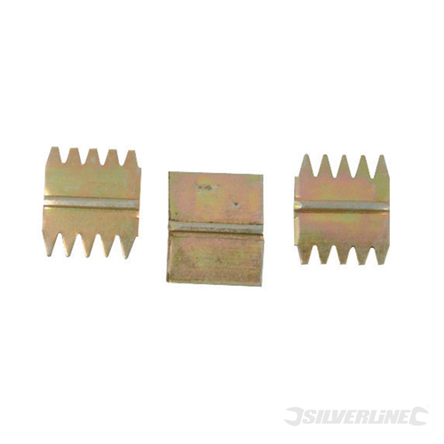 Scutch Set 3pce Silverline 25mm