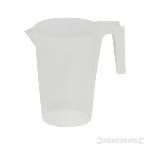 Measuring Jug Silverline 1Ltr