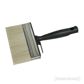 Shed & Fence Brush Silverline 125mm