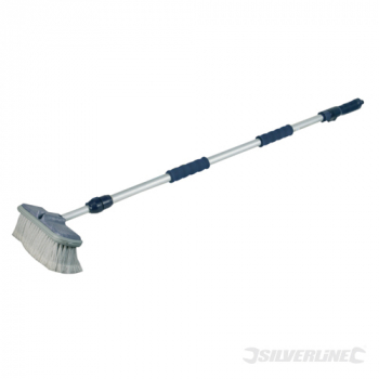 Telescopic Car Cleaning Brush Silverline 1.07 - 1.76m