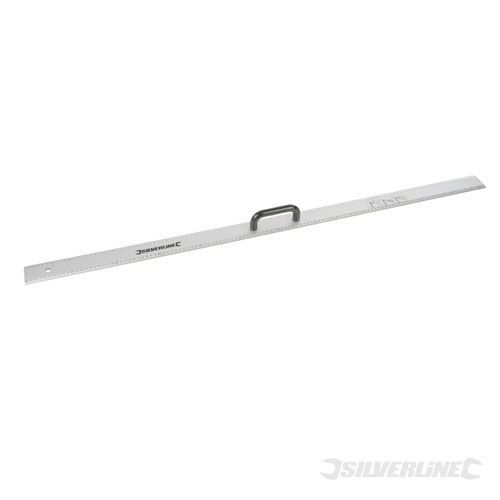 Aluminium Rule with Handle Silverline 1200mm