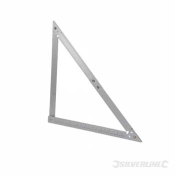 Folding Frame Square Silverline 600mm