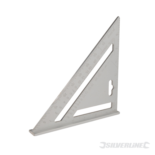 Aluminium Alloy Roofing Square Silverline 7inch