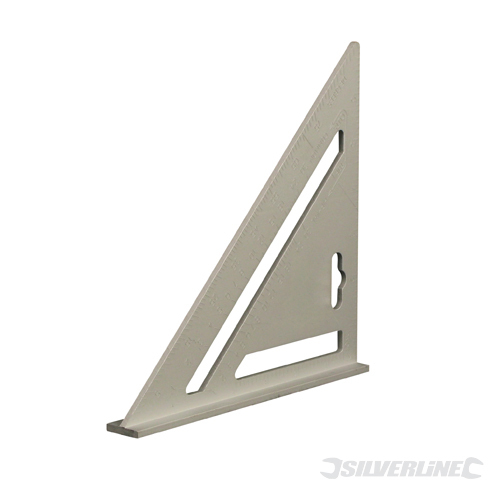 Heavy Duty Aluminium Roofing R Silverline Square7inch