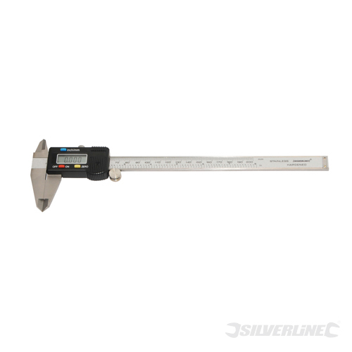 Digital Vernier Caliper Silverline 200mm