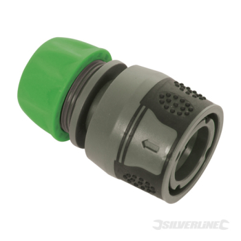 Soft-Grip Hose Quick Connector Silverline 1/2inch Female
