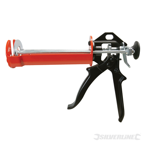 Resin Applicator Gun Silverline 380ml