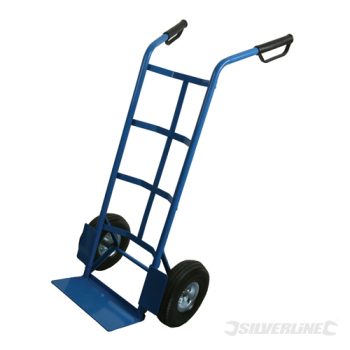 Heavy Duty Sack Hand Truck Silverline 315kg