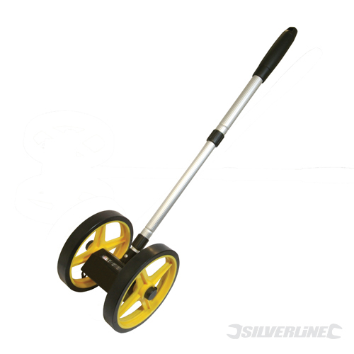 Mini Measuring Wheel Silverline 0 - 9999.9m