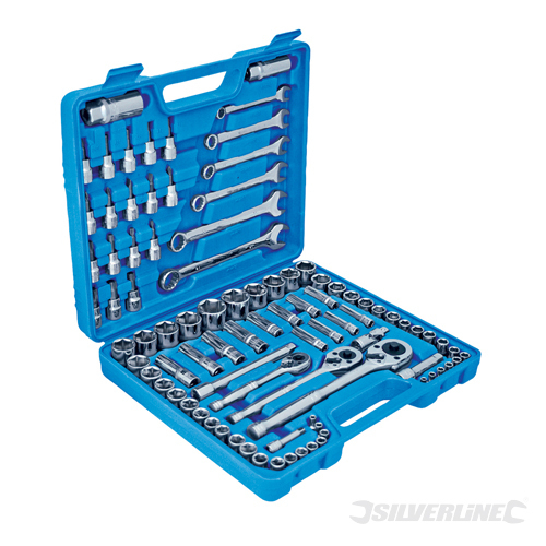 Mechanics Tool Set 90pce Silverline 90pce