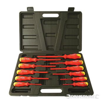 Insulated SG Screwdriver Set Silverline 11pce