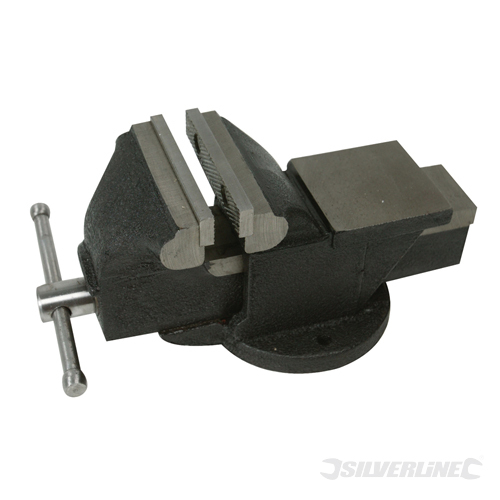 Engineers Workshop Vice 5kg Silverline Jaw Capacity 100mm