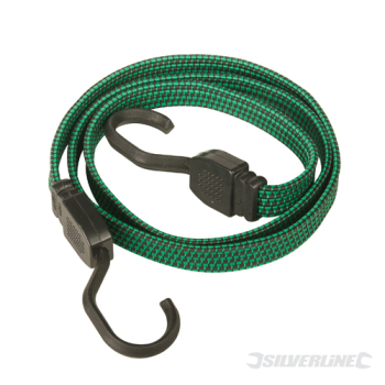 Flat Bungee Cord Silverline 635mm