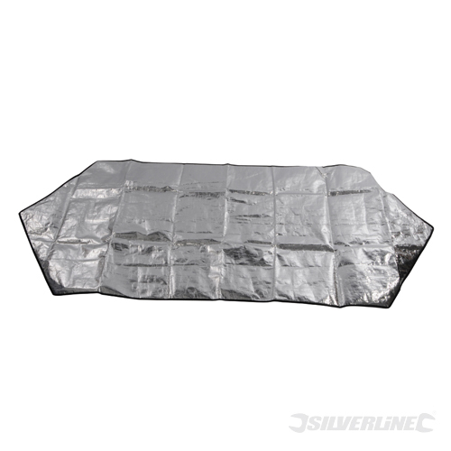 Windscreen Protector Silverline 1700 x 700mm