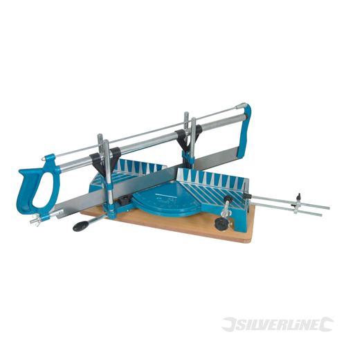 Mitre Saw Silverline 550mm 14tpi Saw