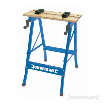 Portable Workbench Silverline 100kg