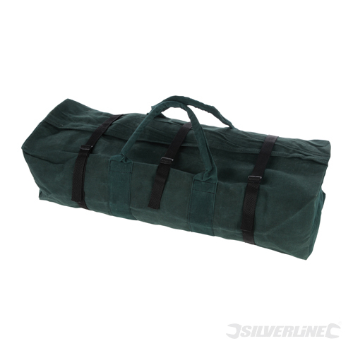 Canvas Tool Bag Large Silverline 760 x 430 x 215mm