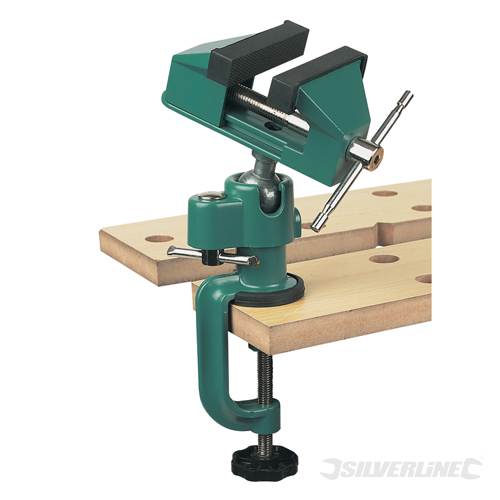 Multi Angle Vice Silverline 70mm