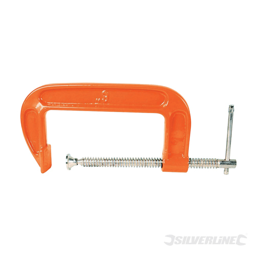 G-Clamp Silverline 100mm