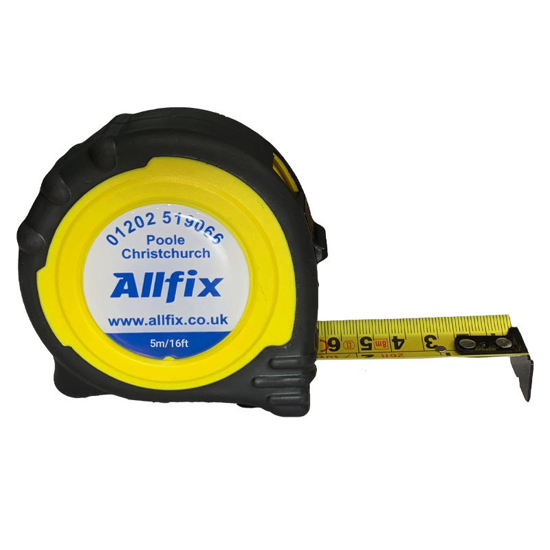 ALLFIX Branded 5 Metre Tape Measure