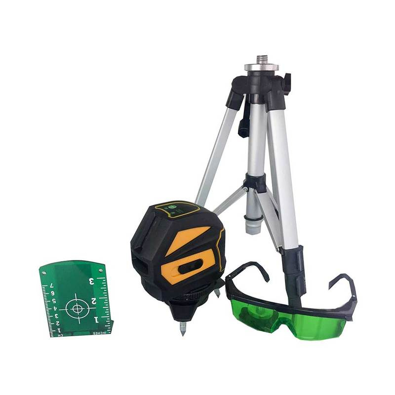 Proline GP118G Cross Line GREEN Laser Level