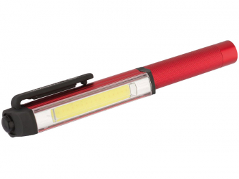 3W COB ALUMINIUM POCKET TORCH (66009)