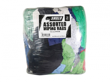 Shield Assorted Wiping Rags 10kg
