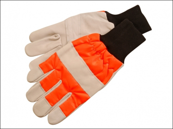 CH015 Chainsaw Safety Gloves - Left Hand protection