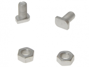 GH003 Cropped Glaze Bolts & Nuts Pack of 20