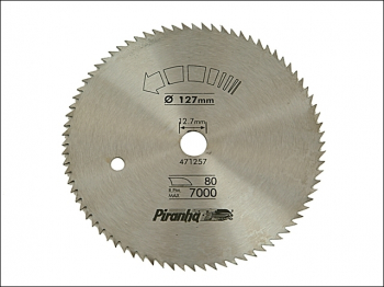 Circular Saw Blade 140 x 12.7mm x 100T Cross Cut