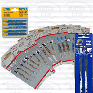 X25762 Thin Metal Jigsaw Blades Pack of 2