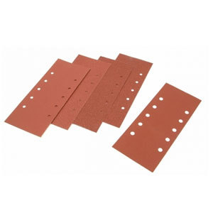 1/2 Sanding Sheets Orbital Pla in Coarse 60 Grit (Pack of 5)