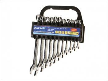 Combination Spanner Set, 11 Piece