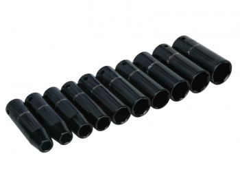1/2in Metric Deep Impact Socket Set 10-24mm, 10 Piece