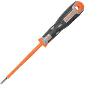 Tekno+ VDE Screwdriver Slotted Tip 3.5mm x 100mm
