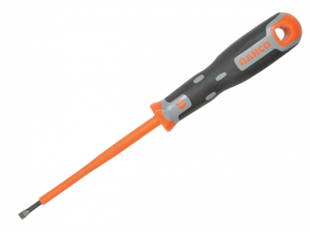 Tekno+ VDE Screwdriver Slotted Tip 4.0mm x 100mm