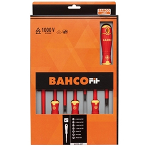 BAHCOFIT Insulated Screwdriver Set of 7 SL/PH