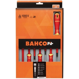 BAHCOFIT Insulated Screwdriver Set, 7 Piece