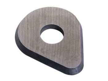 625-PEAR Carbide Edged Scraper Blade