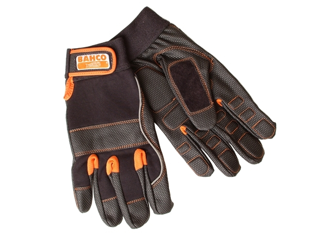Power Tool Padded Palm Gloves - Large (Size 10)