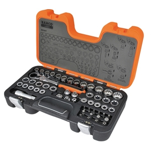 S530T Pass-Through Socket Set of 53 Metric 1/2in Drive
