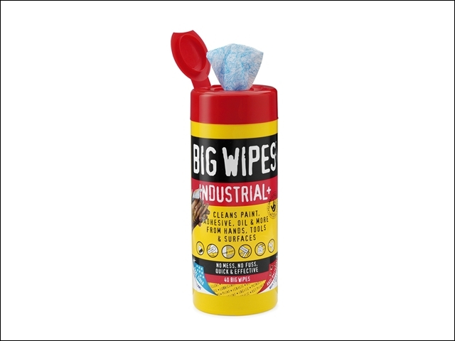 Red Top Heavy-Duty Wipes Tub of 40