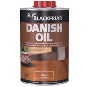 Danish Oil, Clear 1 Litre