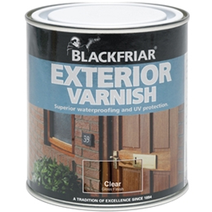 Exterior Varnish UV66 Clear Gloss 500ml
